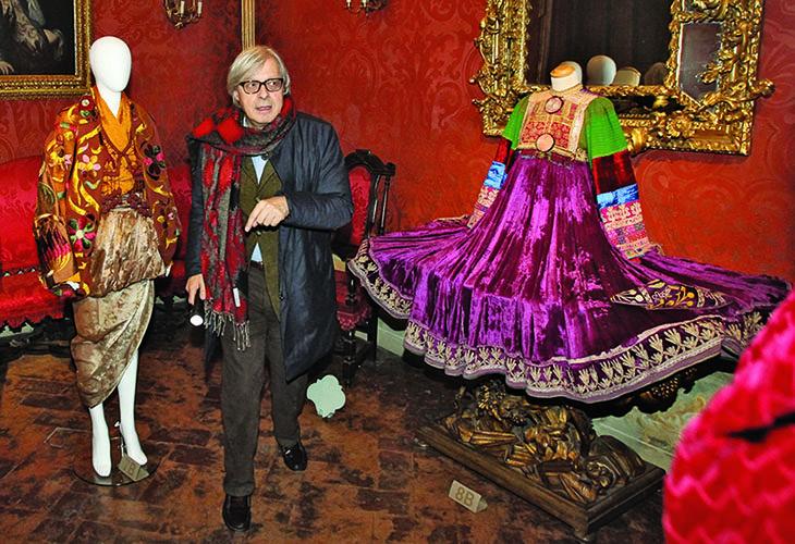 Il 2017 da record dei musei imolesi è stato festeggiato con Vittorio Sgarbi