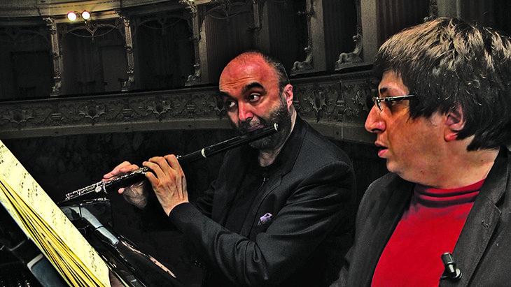 Il flautista imolese Massimo Mercelli in concerto su Rai5 con  Ramin Bahrami