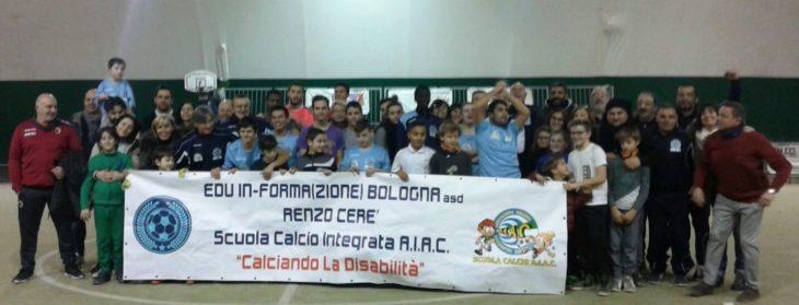 Anche a Imola arriva il calcio per bambini con disabilità del progetto Edu In-Forma(Zione)