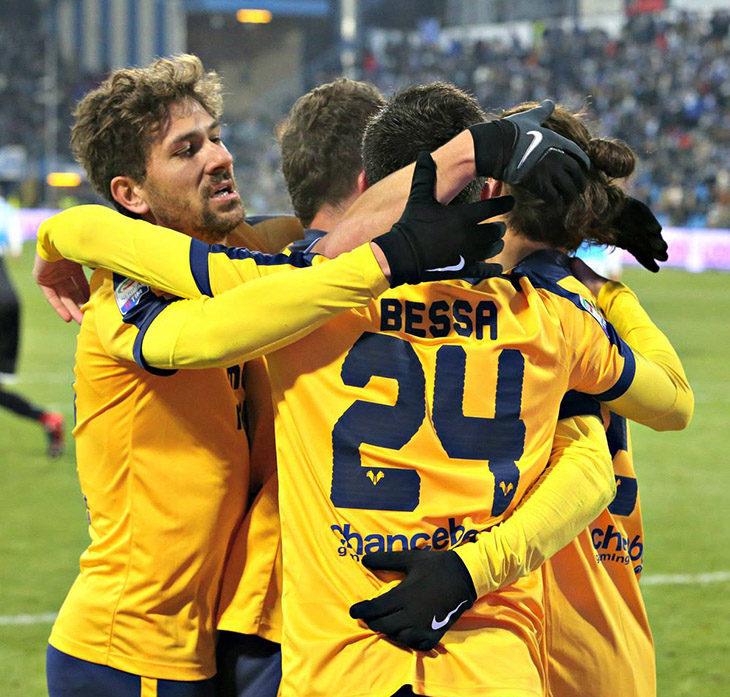 Calcio serie A, l'Hellas Verona è a Imola e si allena al Bacchilega oggi e domani