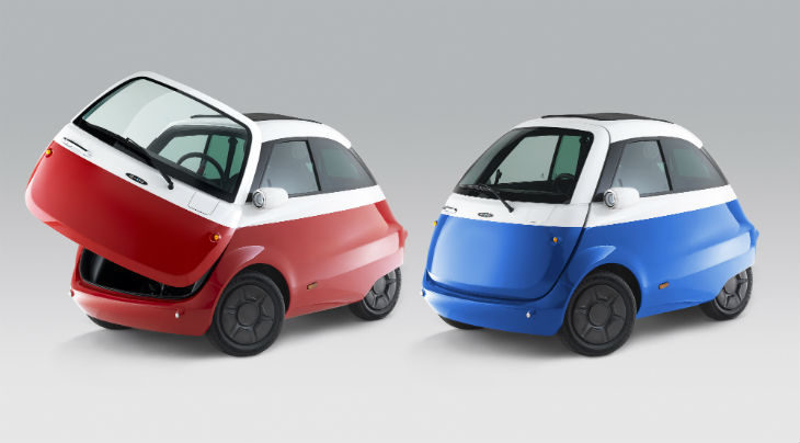 Tazzari accende Microlino a Zurigo, la nuova mini vettura elettrica made in Imola