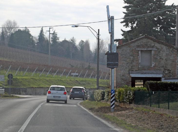 A Fontanelice è stato installato il nuovo autovelox fisso sulla Montanara