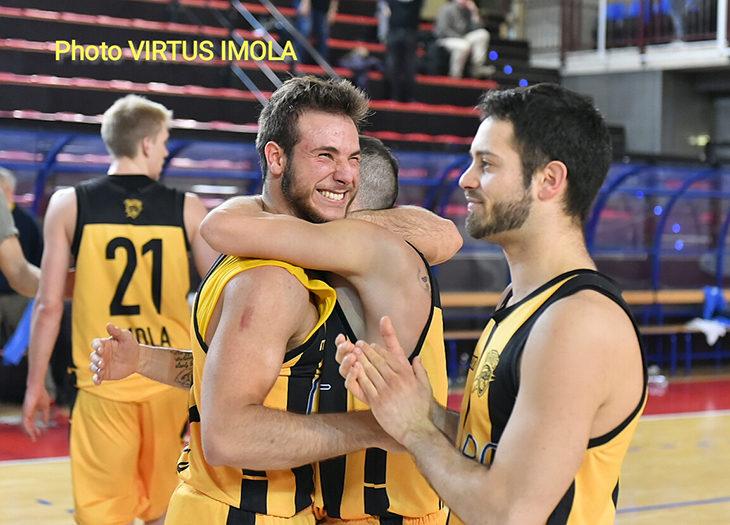 Basket C Gold, questa Vsv Imola non molla mai e supera Montecchio dopo un supplementare