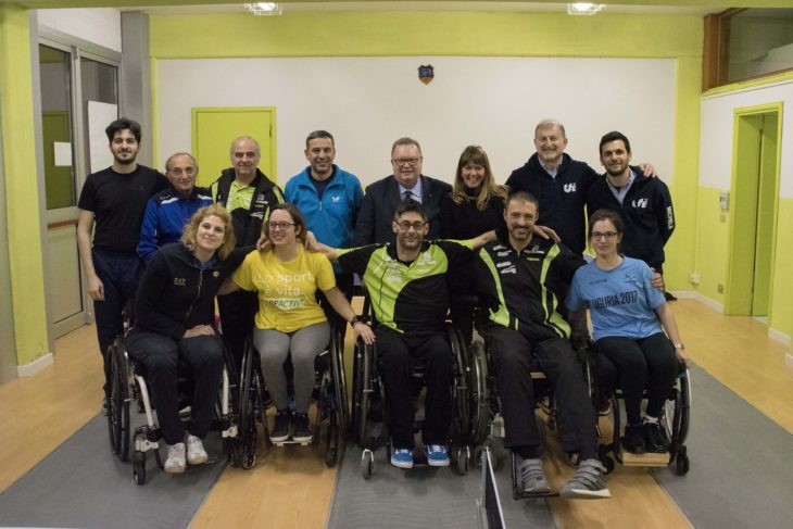 Al centro sportivo Montericco arriva il tennistavolo paralimpico