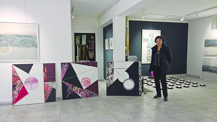 L'artista castellana Anna Boschi festeggia i 50 anni di carriera con una mostra sulla Poesia Visiva