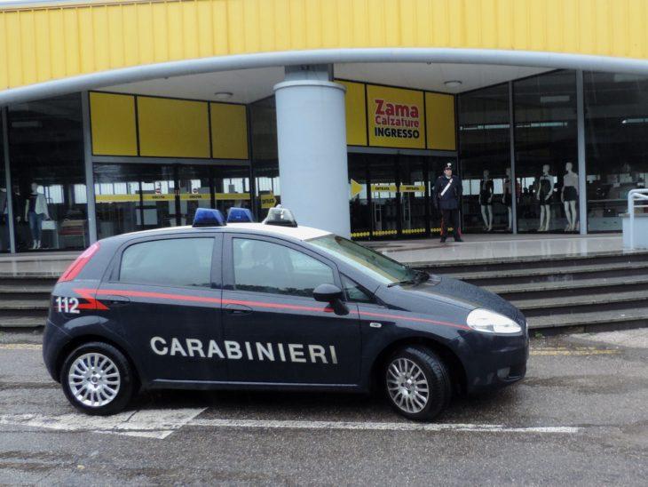 Carabinieri sventano rapina da Zama calzature a Toscanella di Dozza, due arrestati