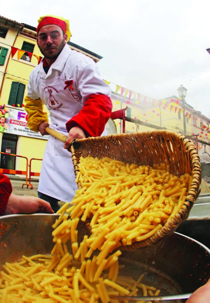 Carnevale, a Borgo e Tossignano un Martedì Grasso con maccheroni e polenta