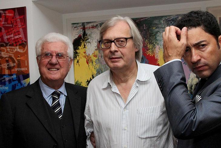 Vittorio Sgarbi premia l'artista castellano Corrado Avanzi con l'esposizione di sue due opere a New York