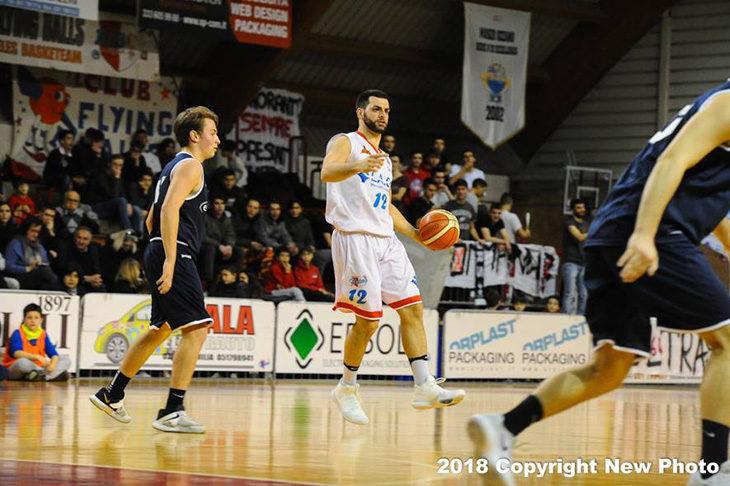 Basket C Gold, i Flying Ozzano non si fermano più e superano anche la resistenza di Montecchio