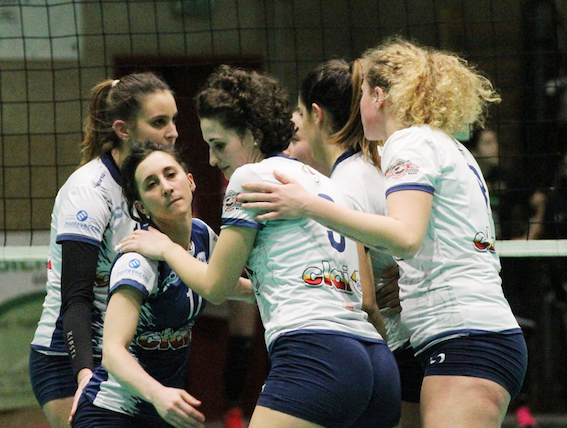 Volley B2 femminile, la Csi Clai Imola domina Vignola e si avvicina ai play-off