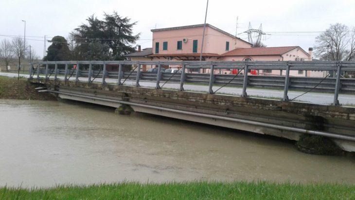 Maltempo, San Vitale a una sola corsia a Fossatone, ma strade provinciali percorribili. Consorzio di bonifica impegnato per l'emergenza idraulica