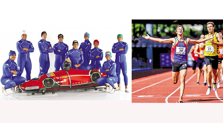 Olimpiadi invernali, scatta l'ora dello sprinter Lorenzo Bilotti nel bob a quattro. Intervista all'amico mezzofondista Francesco Conti