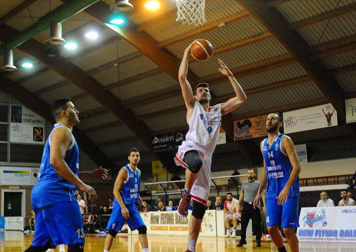 Basket C Gold, i Flying Ozzano non fanno sconti e scalano anche il Titano