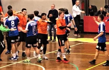 Pallamano serie A: il Romagna Handball perde la prima partita nel poule play-out