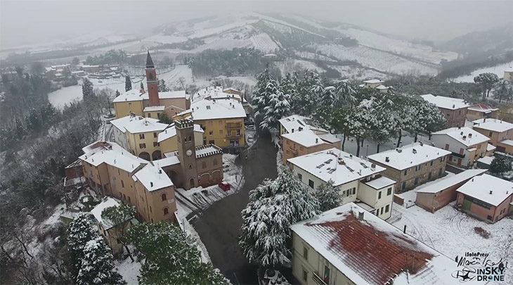 In giro sopra la vallata e Imola con il drone aspettando primavera – VIDEO E INTERVISTA