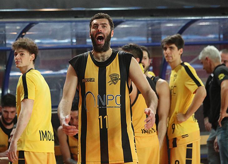 Basket C Gold, l'ultimo quarto costa caro alla Vsv Imola
