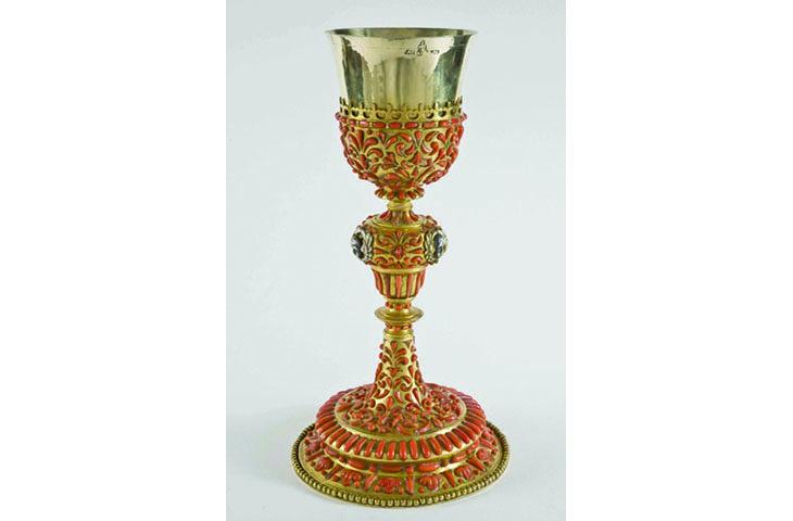 Vasellame liturgico, al Museo diocesano una mostra con sessantacinque calici liturgici