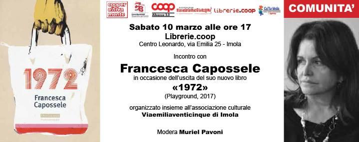 CooperAttivaMente torna oggi pomeriggio con Francesca Capossele e Viaemiliaventicinque