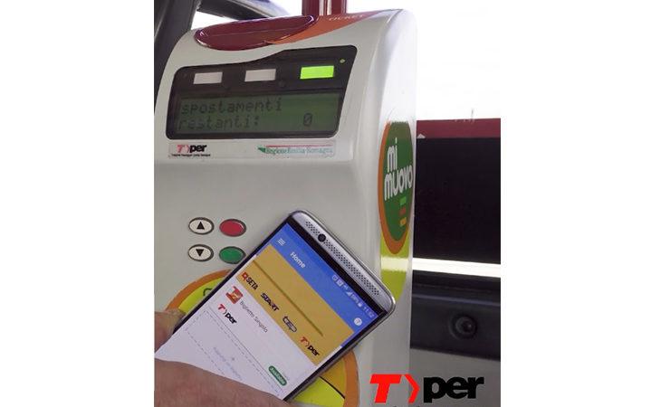 Biglietti autobus, arriva l'acquisto e la convalida direttamente con lo smartphone