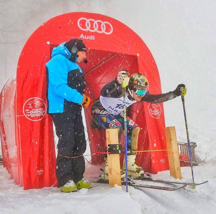 L'avvocato imolese Marcello Sangiorgi campione italiano avvocati di slalom speciale