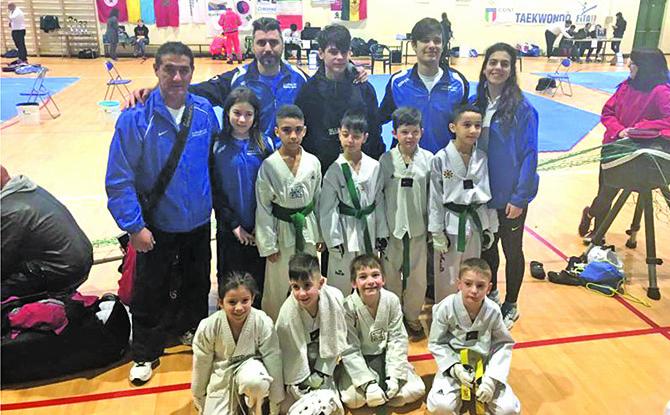 Tre bronzi e due argenti per l'asd Taekwondo Medicina alla coppa internazionale Insubria