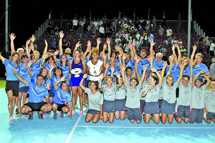 Confermati per luglio gli Internazionali di tennis alla Tozzona, con alcune novità