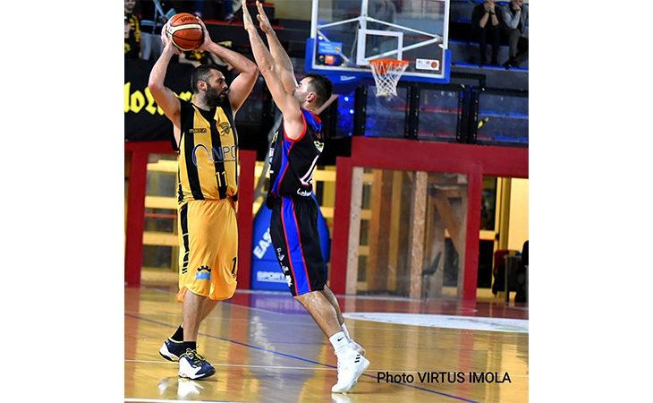Basket C Gold, la Vsv Imola fa il suo contro Modena e aggancia Ozzano