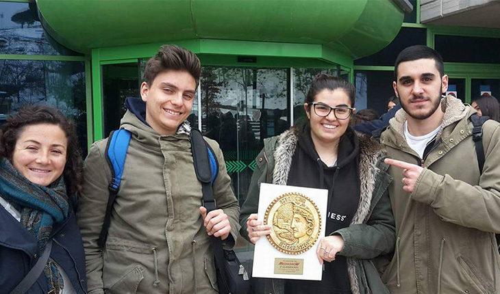 Olimpiadi della multimedialità, terzo posto per Francesca Rignanese del Paolini