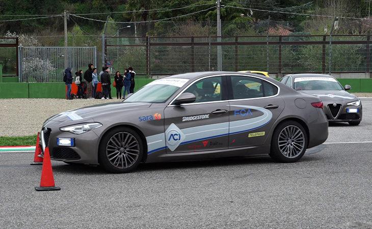 La nuova «sfida» sulla sicurezza stradale parte dall'autodromo di Imola