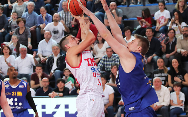 Basket A2: Andrea Costa vince con Montegranaro. Una stagione… poderosa
