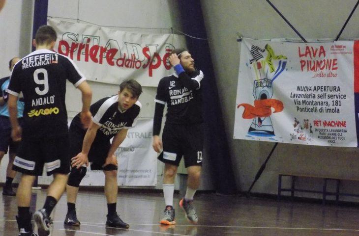 Pallamano serie A: il Romagna Handball fallisce la prima play-out contro Gaeta