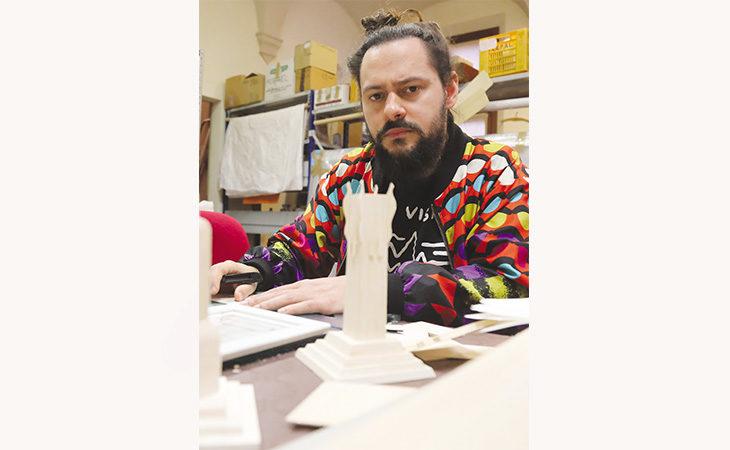 Off-lying, tra materia e digitale la mostra di Gianluca Gimini e del collettivo Trash.Been