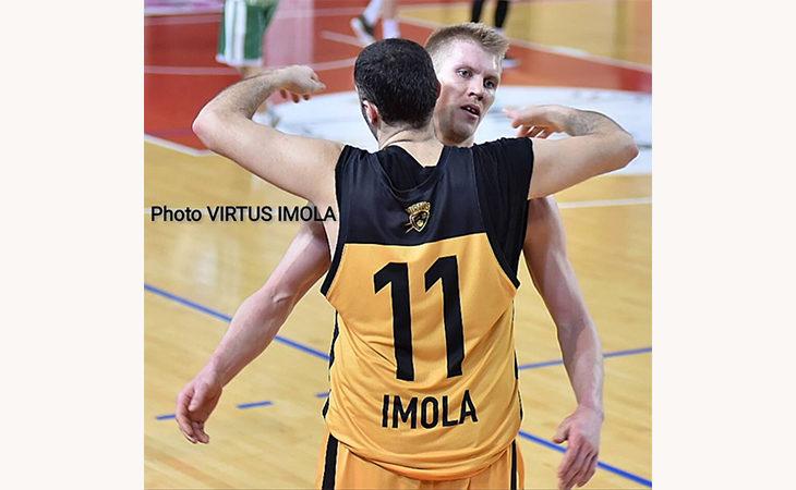 """Basket C Gold, la Vsv Imola """"asfalta' Montecchio e si porta avanti 1-0  nel primo turno play-off"""