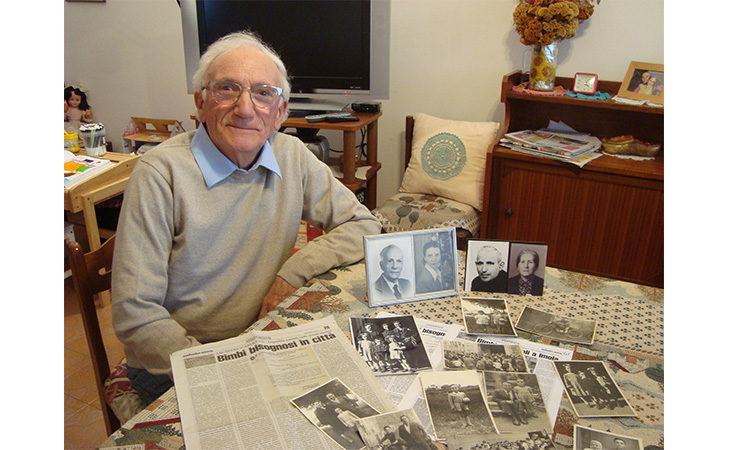 La storia di Giuseppe Ianuario, uno dei bimbi di Napoli accolto e cresciuto a Imola