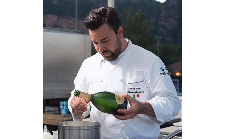 Lo chef del San Domenico Massimiliano Mascia tra i protagonisti dell'evento «Centomani di questa Terra»