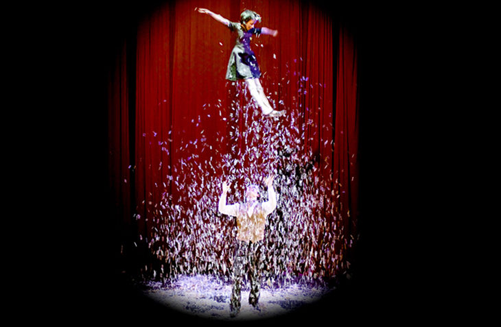 "Il tendone del circo ""contemporaneo' a Ozzano con venti spettacoli in due weekend"