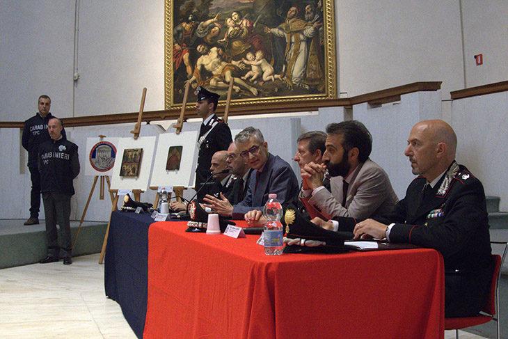 """Recuperato il """"Ritratto di donna' rubato dal Museo civico San Domenico a marzo"""