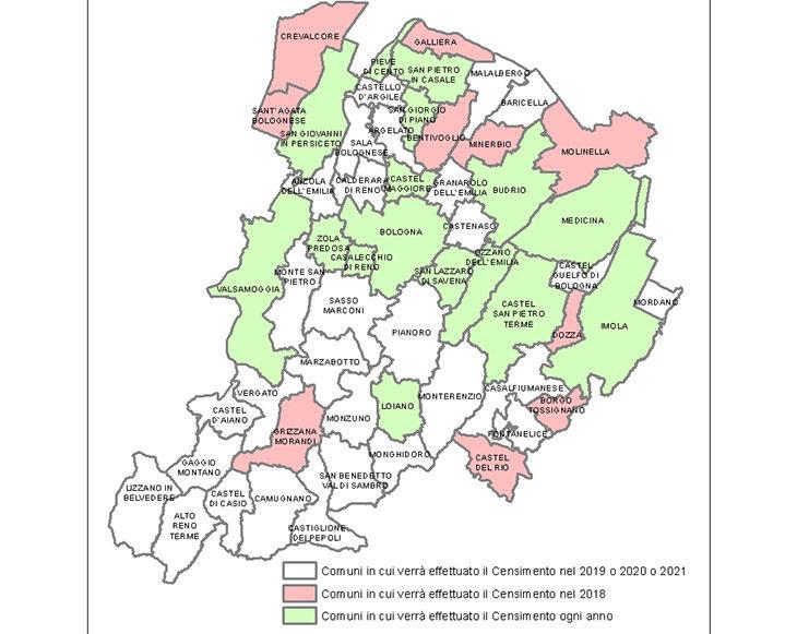 Censimento annuale a campione per popolazione e case, rilevatori cercasi