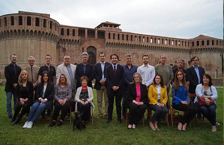 #ElezioniImola2018, i candidati della lista di Forza Italia