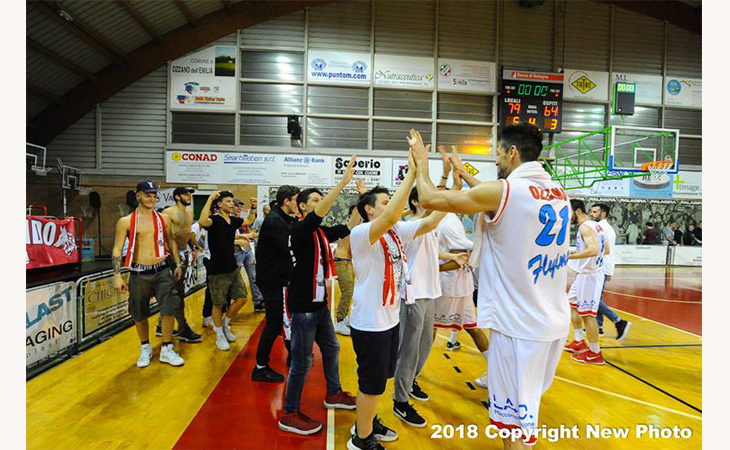 Basket C Gold, i Flying Ozzano in finale play-off per il secondo anno consecutivo