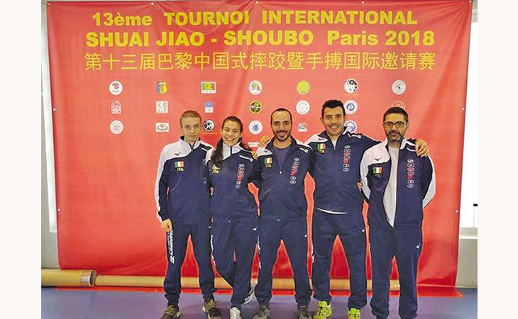 Arti marziali,  tante medaglie e il graffio de «La Tigre» Nicola Barzagli ai Mondiali di Shu Bo di Parigi