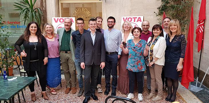 #ElezioniImola2018, i candidati della lista Sinistra Unita