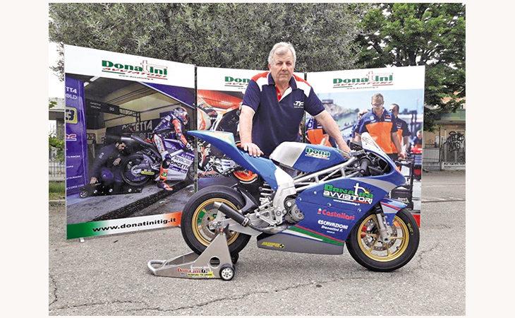 Moto MiniGp, a breve in pista l'ultima creazione dell'imolese Giancarlo «Bubu» Donatini
