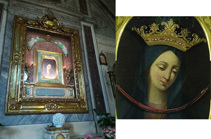 Rubate collana e corona alla Madonna di San Giovanni Vecchio