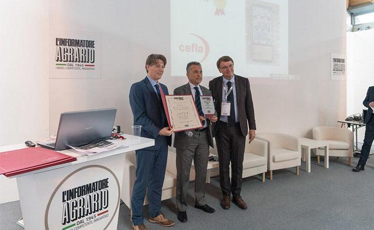 Macfrut, l'innovazione targata Cefla premiata con la medaglia d'oro