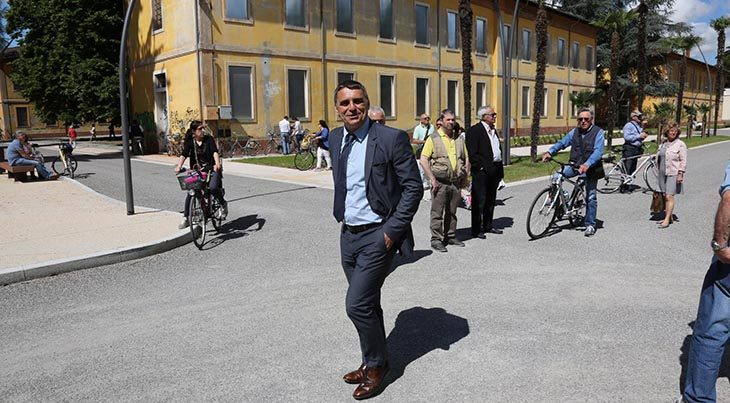 Manara (ConAmi): «Il parco dell'Osservanza ha vinto la sfida, ora tocca al padiglione 1»