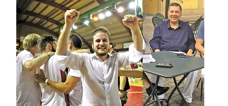 Basket, coach Salieri cambia panchina e fa i complimenti ai Flying Ozzano per la promozione