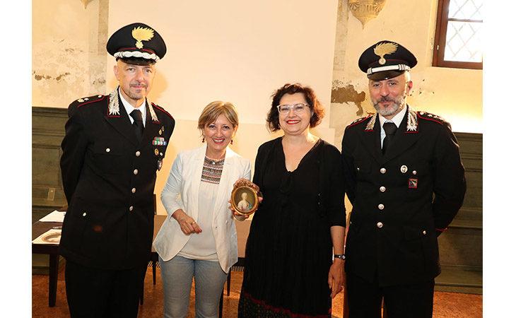 Restituito al Museo San Domenico di Imola il dipinto «Ritratto di donna» rubato a marzo. IL VIDEO