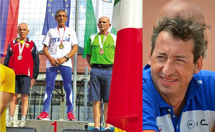 Il runner Adolfo Accalai è il re della montagna, il nuotatore Guido Cocci vince la «Maratona del Po»