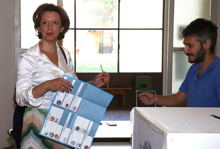 """#ElezioniImola2018, Sangiorgi (M5S). """"Contenta del risultato storico"""". Stasera festa post primo turno al Maglio"""